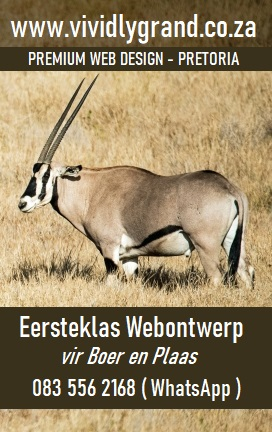 Vividly Grand Web Design for South African Game farmers